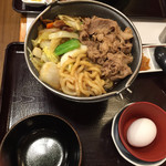 すき家 - 160204 牛すき鍋
