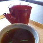 そば処 あじき堂 - 蕎麦湯