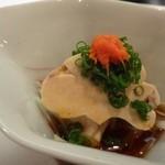 節魚 すし宗 - ◆アンキモ・・丁寧作られていて美味しいこと。最近美味しい「アンキモ」に出会えなかったので嬉しい。