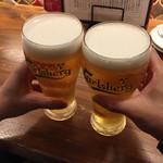 ビトレス プリュス - ビールでカンパーイ