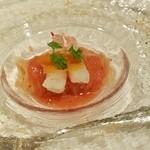 47173090 - 薩摩たか海老とフルーツトマトの冷静カッペリーニ