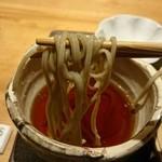 粋・丸新 - 蕎麦。つゆにリフト(^-^)/