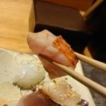 粋・丸新 - 金目鯛。リフト(^-^)/