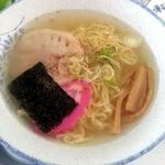 レークビュースキー場 - 料理写真:塩ラーメン(小)