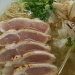 47175030 - 朝びき鶏そばたたき肉