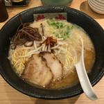ラーメン龍の家 - 「とんこつ こく味」780円
