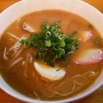 まるまつラーメン - 4新味(黒みそ):500円