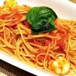アフタヌーンティー・ティールーム - オーガニックトマトとモッツァレラチーズのトマトソースパスタ アップ