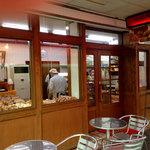 エーデルワイス - エーデルワイス入口とテラス