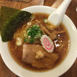めん祭 - 生姜醤油ラーメ(750円+税60円)