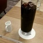 47184724 - セットのアイスコーヒー