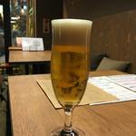 バル フジヤマ - 生ビール