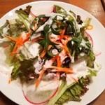 ZUZU - ランチのサラダ