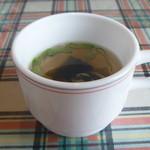 煉瓦亭 - 本日のスープ