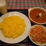 SHIVAJIインドレストラン&バー - スープカレーランチ(¥780)