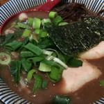 ラーメン 豚きん - Wスープラーメン750円