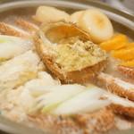 夢蔵 - 毛ガニ酪農鍋