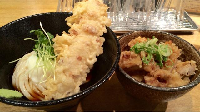 本町製麺所 天 本店 - 丼セット900円