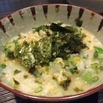 若葉 - H.28.2.5.夜 雑炊(焼きふぐコース @7,200円)