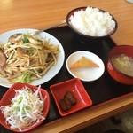 全福源 - 料理写真:野菜炒めランチ