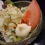 和処居 - ポテトサラダ320円