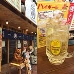 大阪満マル - 今日はいつも角屋が工事中休みなので、ここで昼酒。 ( ^ ^ )/■
