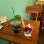 ケニーズハウス - アイスコーヒーとベリー&ベリー