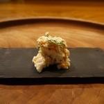 天一坊 - 柿と蕪ときゅうりの白和え