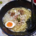 麺屋GAKU - 鶏塩ラーメン 700円
