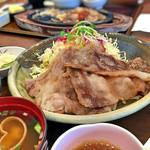 グリル逢味 - 近江牛しぐれ定食 1350