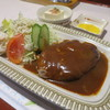 Tomato - 料理写真:ハンバーグ定食700円。