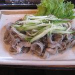 浜忠焼肉レストラン - センマイ刺し