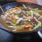 浜忠焼肉レストラン - ユッケジャンクッパ(小)