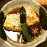 藪へゑ - 揚げだし豆腐