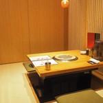 焼肉トラジ - 個室スペースを一人で贅沢に。