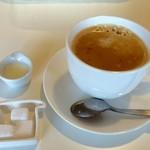 SelfisH. - 三元豚ロースカツランチ 食後コーヒー