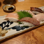 琉球料理といまいゆ しんか/肉バル&ダイニングヤンバルミート - お肉の寿司