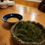 琉球料理といまいゆ しんか/肉バル&ダイニングヤンバルミート - 海ブドウ