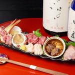 新和食 きくい - 料理写真:特製馬刺しの盛り合わせ