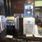 蔦屋茶寮 - コーヒー(有料)と冷水のサービスあり♪