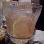 47203377 - 梅酒ロック 氷が多い~(笑)