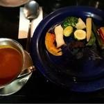 ブルーノ - 焼き野菜カレー 1382円