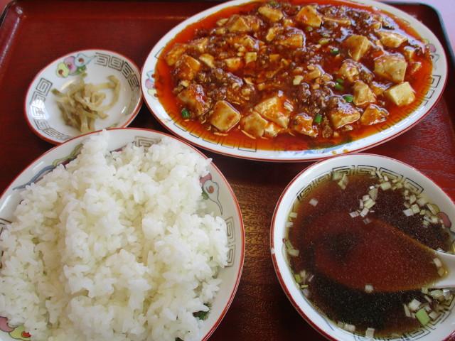 雪梅 - 麻婆豆腐定食