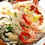 Crab House Eni - エニ's サンプラープレート4500円