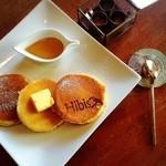 ハイビス カフェ - シンプルパンケーキ☆季節のジャム付!¥650