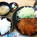 47207796 - ロースかつ定食(上) 1,150円