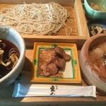 47210014 - 鴨汁 せいろ蕎麦(鯛漬け小丼付き)