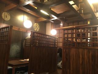 東僑酒楼 - 半個室で落ち着ける空間でした