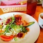 味巣亭 - ランパス サラダとスープ