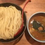 三田製麺所 - つけ麺(大盛り) 熱盛り 730円